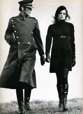 Willy Van Rooy ph Helmut Newton Vogue 1967 Women Management Blog 3